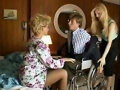 Sharon Mitchell, Jay Pierce, Marco in vintage intercourse scene