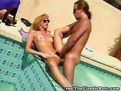 Classic poolside pummeling