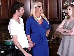 Vintage mom milf and handjob first time My acquaintance's step daught