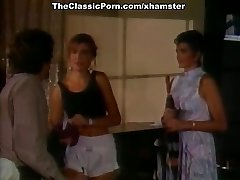Little Bj Annie, Tom Byron, Gina Carrera in classic porn