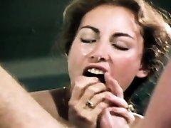 Loni Sanders Best Vintage Blowjob-Deep-throat
