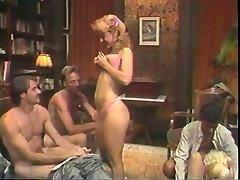 Molten retro gang sex action with Nina Hartley
