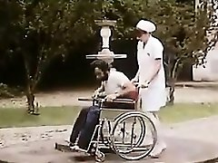 Wooly Nurse And A Patient Having Romp