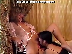 Pedicure and lesbian pussy lick