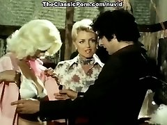Juliet Anderson, John Holmes, Jamie Gillis in old school bang