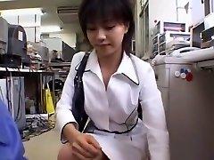 Amazing homemade Secretary, Office sex clip