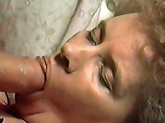 Mature wife face smash