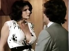 Veronica Hart, Lisa De Leeuw, John Alderman in old school pornography