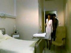 Yasmine Lafitte (HOTTTTTT) and Renata Black as nurses plowed