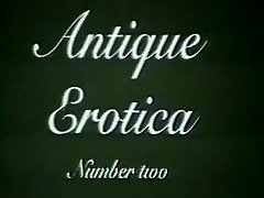 Antique 1950's 1960's Authentic Antique Erotica 2 xLx