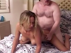 Super Hot Blonde Niki and Old Ed