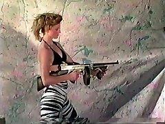 Women Shooting Machineguns 2