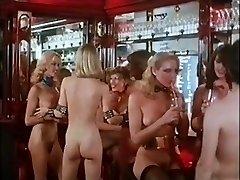 Bare DISCO - vintage 70s blonde large tits dance tease