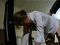 Vintage British College Girl Spanking
