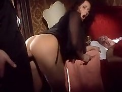 Milf pulverizes with another front of husband