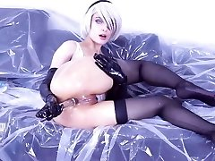 Hottest cosplay of 2B Nier of history