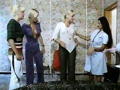 Five girls torrid as lava