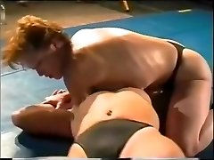 Hard-core Lesbo Sex Fight On Academy Grappling
