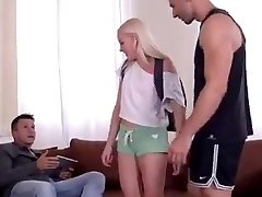 Teens First Double Penetration Orgy