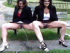 combine of British piss ladies