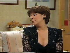 Lynda Bellingham Glorious Black Dress