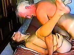 Grandpa gets himself some fresh young cooter to fuck