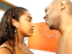 Greatest Big Natural Tits scene with Ebony and Ebony,Large Tits scenes