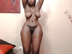Black girl featuring her big  phat ass