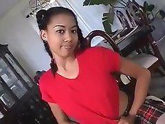 Horny Black Schoolgirl