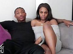 dark-hued step bro fucks black step sister