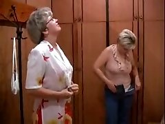 Two MILFs and guy