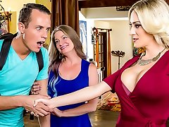 Blake Morgan & Justin Hunt in My Mom's Hottest Pal - DigitalPlayground