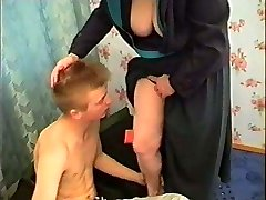 Russian Mommy and Boy