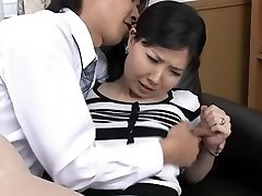 Insatiable Japanese damsel in Incredible HD, Blowjob JAV video