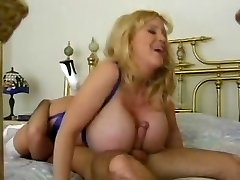 Huge Natural Boobed Blonde Mother by TROC