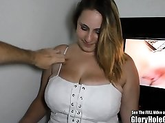 Big Natural Titty Blonde Glory Crevice Blowjobs
