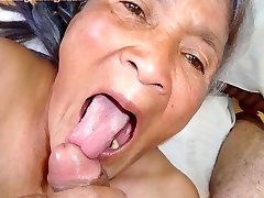 Old latina unexperienced granny  with big boobs and big backside
