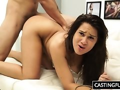 Castinng Penetration For Teenie Desirae Rose