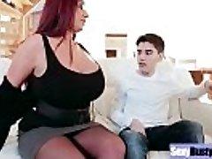 (Emma Butt) Round Big Milk Cans Mommy Enjoy Hard Sex movie-19
