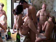 Homemade Gang Sex Party
