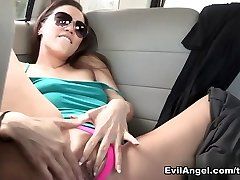 Dana Vespoli & Kalina Ryu in Lesbian Public Orgy Fetish #02 Video