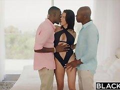 BLACKED Wifey Peta Jensen Cheats With Two Guys