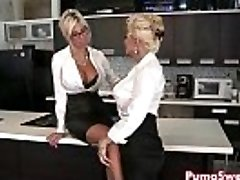 Euro Babe Puma Swede Smashes the Office Super-bitch!