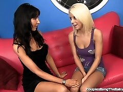 Uber-cute Blonde Babysitter Collective by Married Couple
