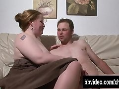 Huge-chested german BBW hoe take cock