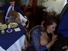 European MILF Orgy with Fat Hooters and Sexy Outfits