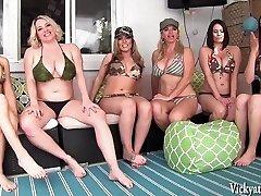 Vicky Vette's Vicinity Orgy! 6 Girls!