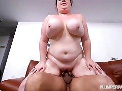 Busty Plus-size Slut Trinety Guess