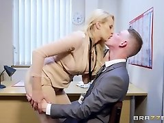 Brazzers - Sizzling Big Jug Boss Wants Some Big Cock