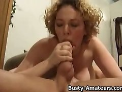 Huge-boobed chick Samantha on 69 with her bf